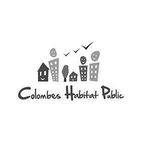 Logo colombes-habitat-public